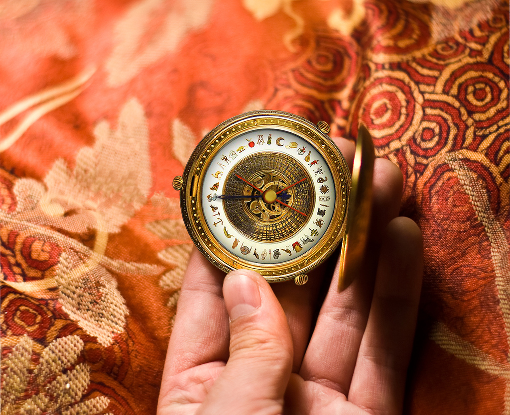 """alethiometer from the golden compass"" ,""his dark materials"", photograph"
