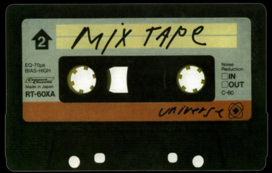 &quot;mixtape...yeah...mixtape.&quot;