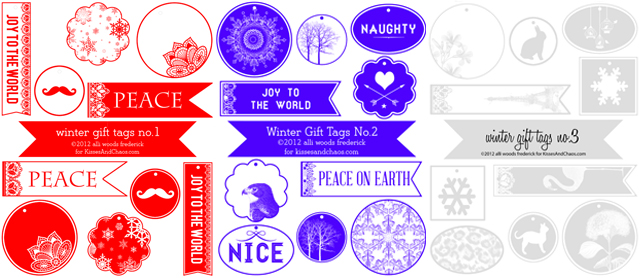 A Holiday Gift For You: Free Holiday Gift Tags