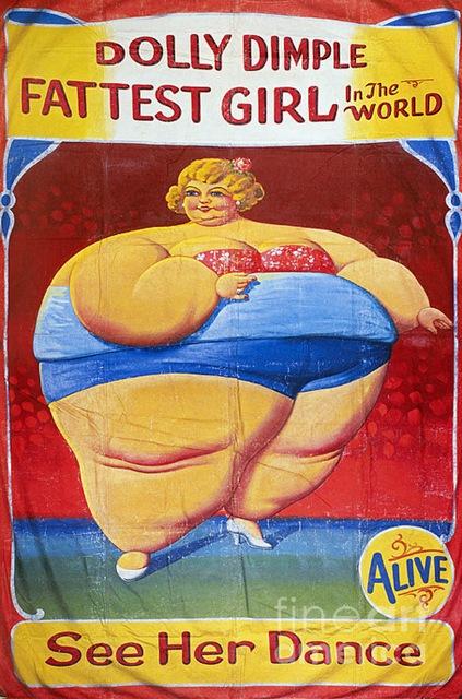 fattest girl
