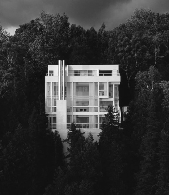 modern in woods