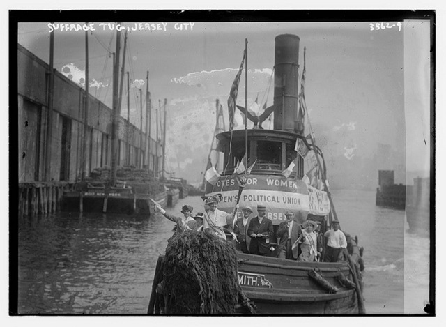 suffragette tug jersey city