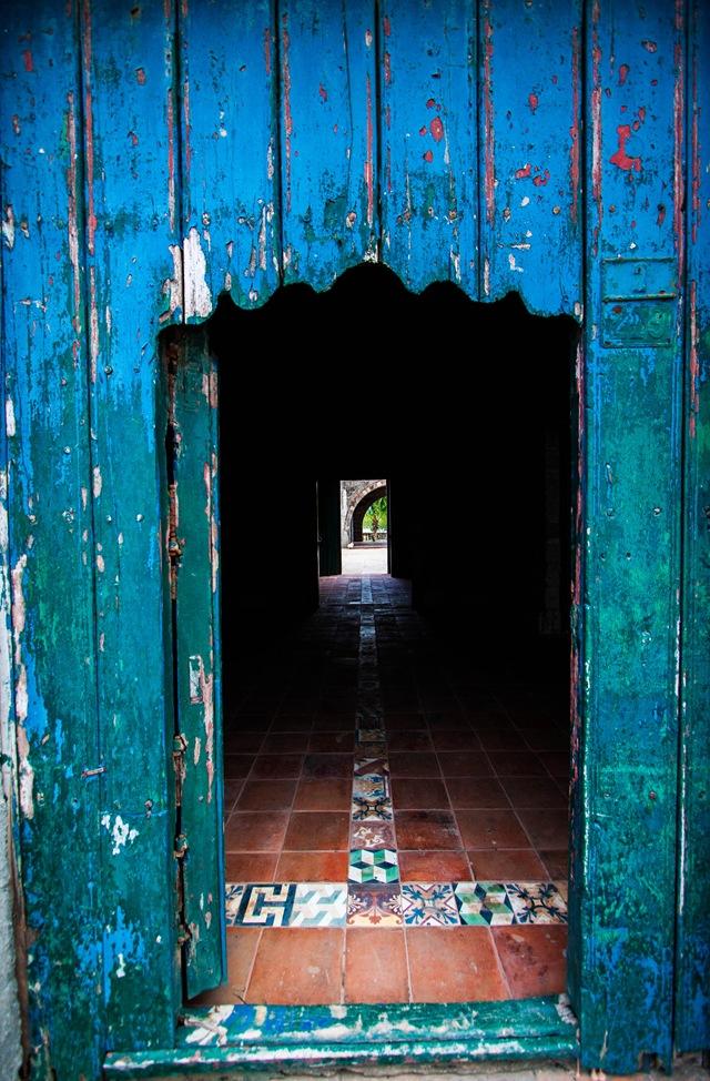 old door--
