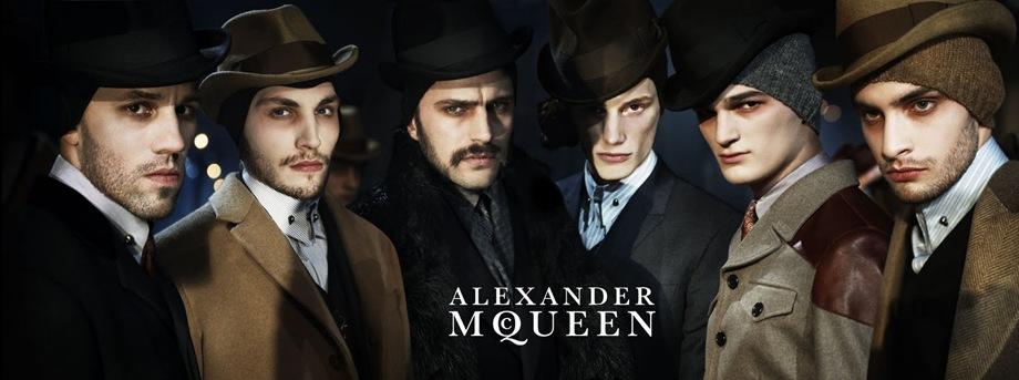 Alexander McQueen Fall Winter Campaign 01