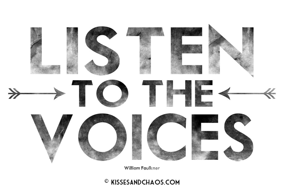 listen to the voices