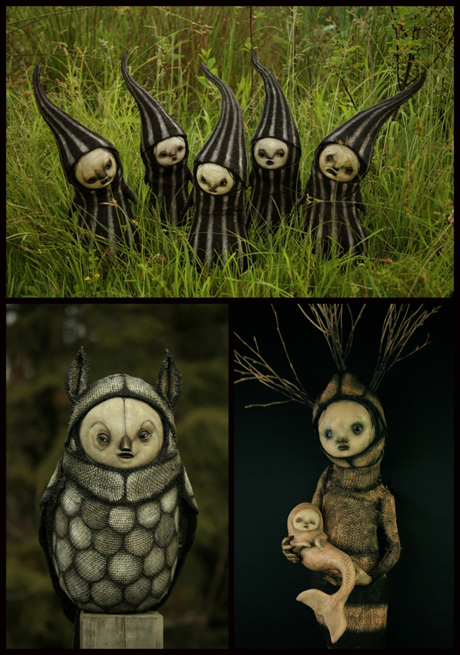 CREEPY SCULPTURES