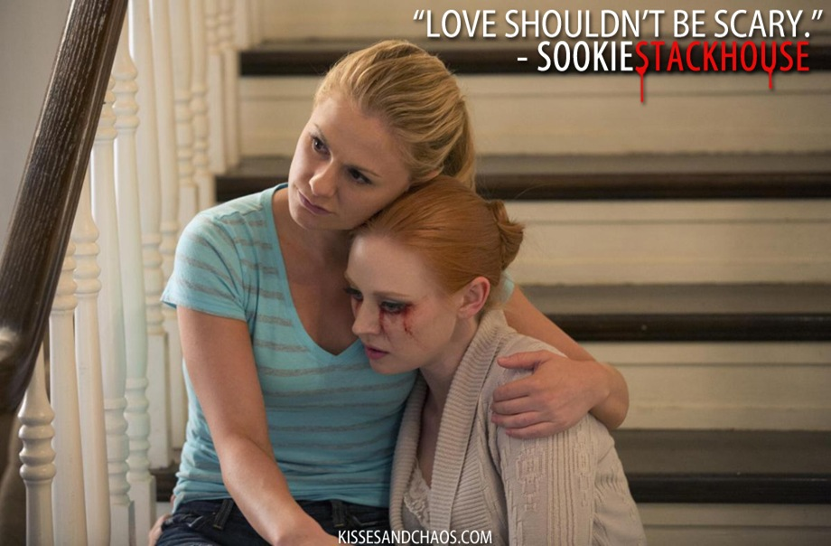 sookie talks about love