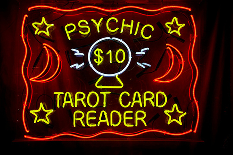 a different kind of tarot reading