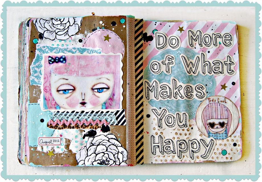 JENNY-HOLIDAY-ART-JOURNAL