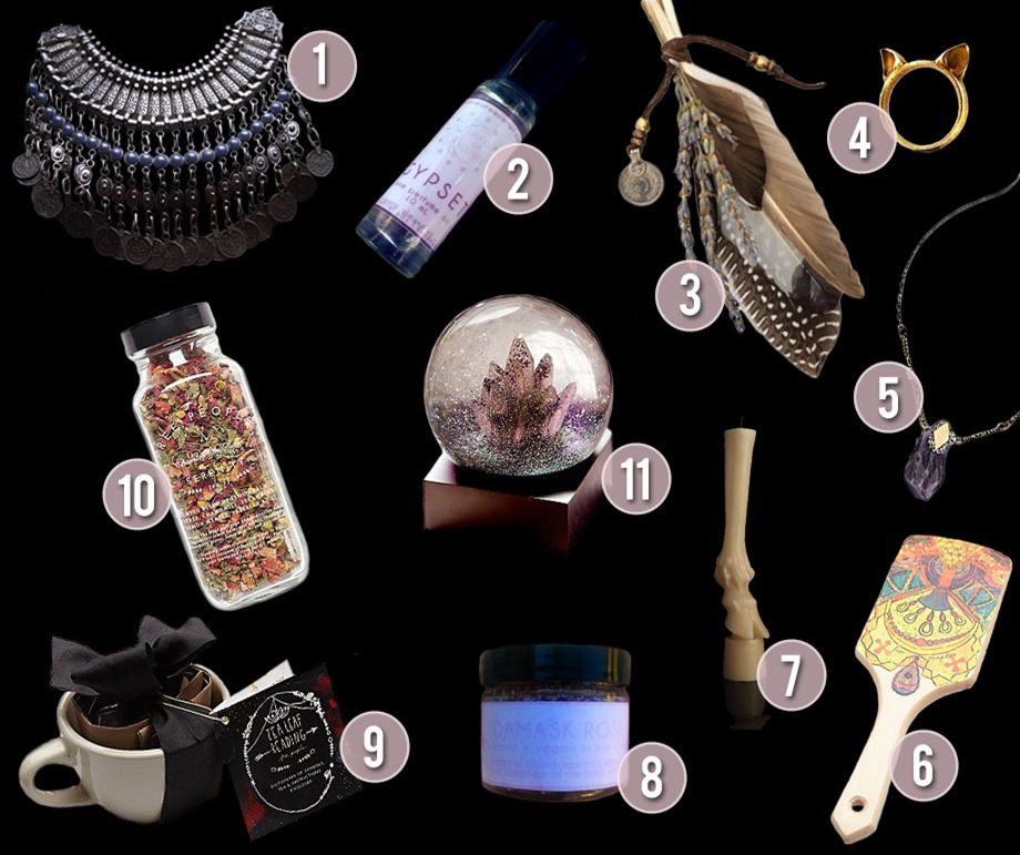 THE ULTIMATE GIFT GUIDE FOR YOGIS AND WITCHES AND GYPSIES