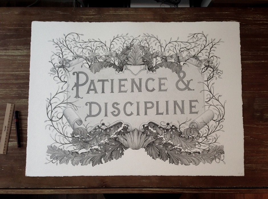 patience and discipline by Xavier Casalta and Rémy Boiré