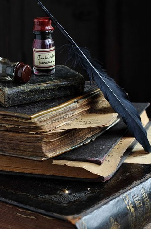 BOOKS-AND-INK-ANTIQUE