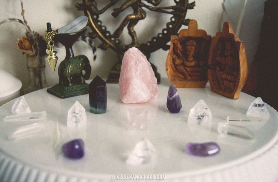 How To Charge Crystals Using The Full Moon