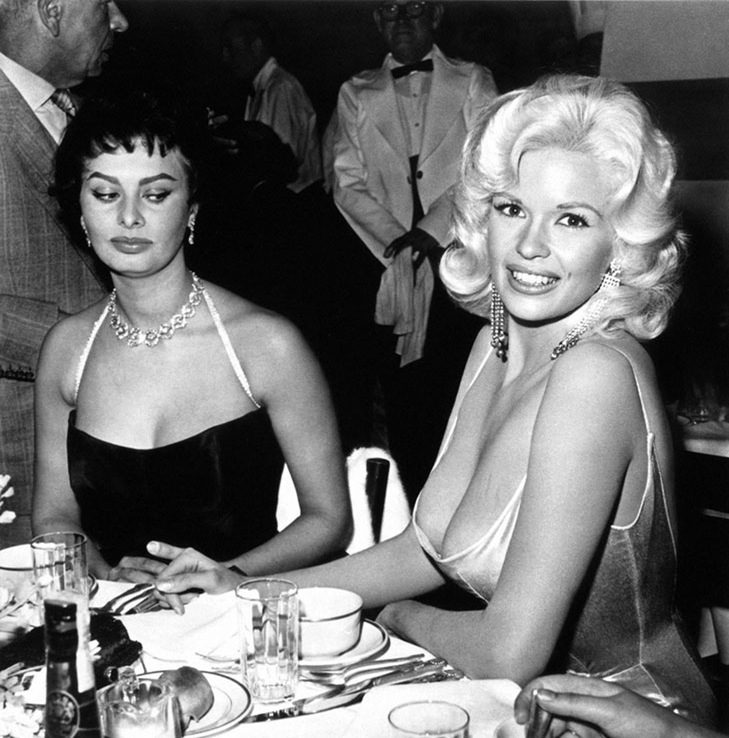 sophia-loren-giving-the-side-eye-to-jayne-mansield